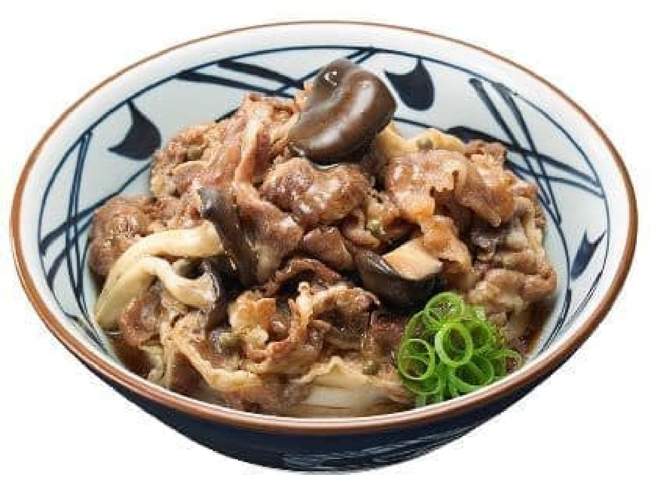 丸亀製麺「牛肉ひらたけしぐれ煮ぶっかけ」
