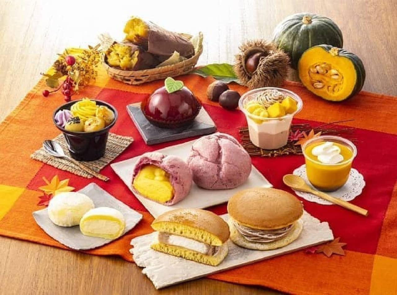 セブン-イレブン「秋の大収穫祭スイーツ」