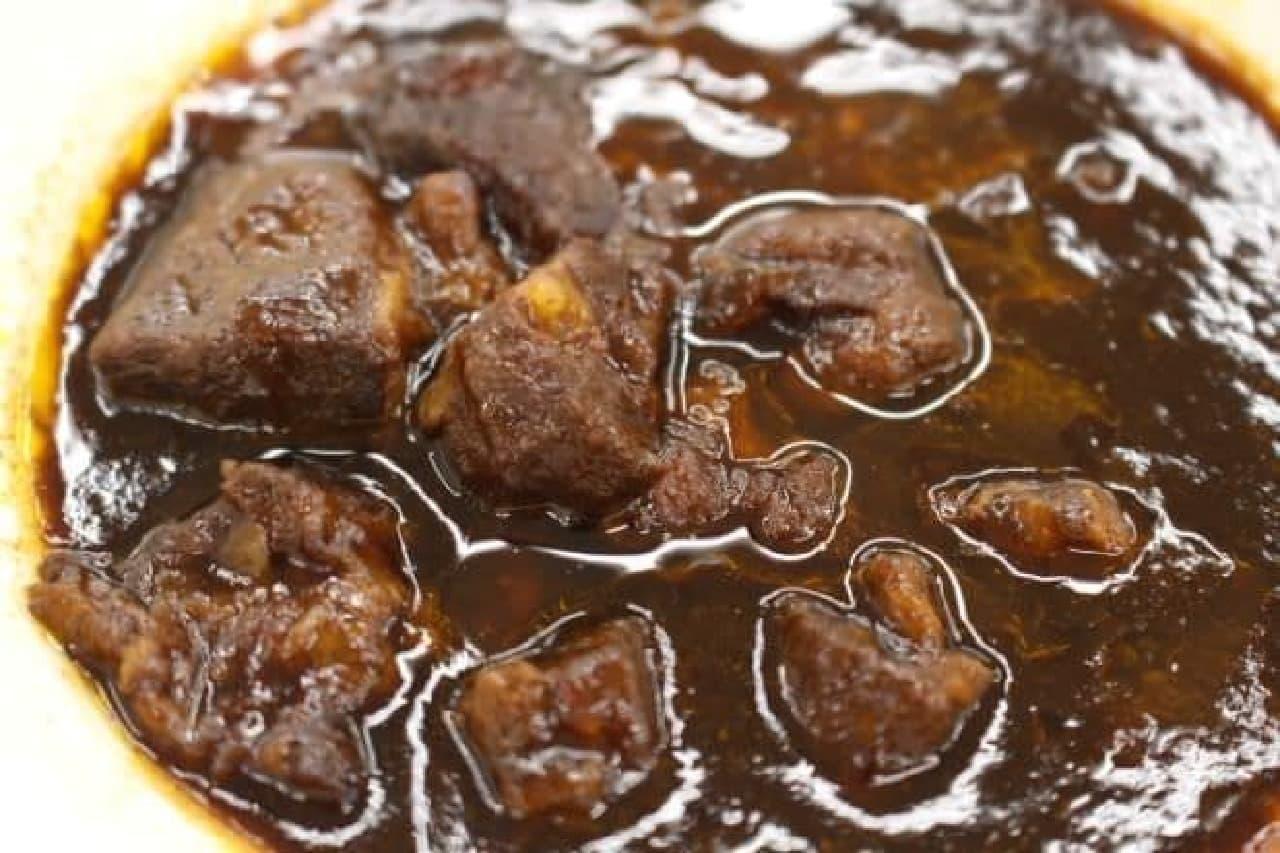 無印良品「牛肉の赤ワイン煮」