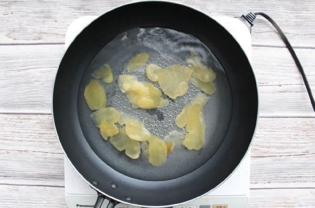 カルディのレシピ!「ドライジンジャー」を使って自家製ジンジャーエール