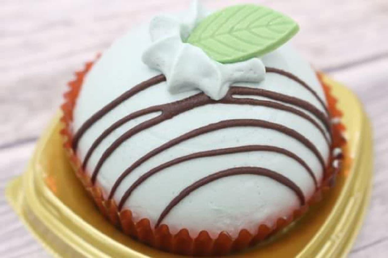 セブン「チョコ&ミンティケーキ」