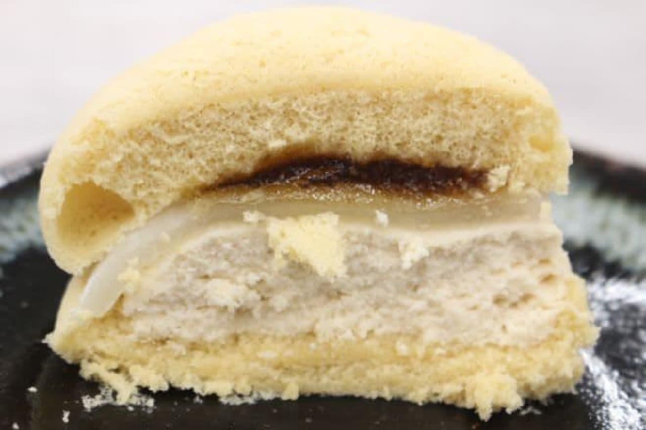 山崎製パン「桔梗信玄餅風すふれけーき」