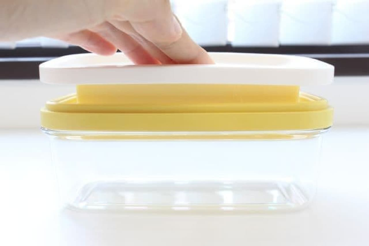 ニトリ「カットできちゃうバターケース」