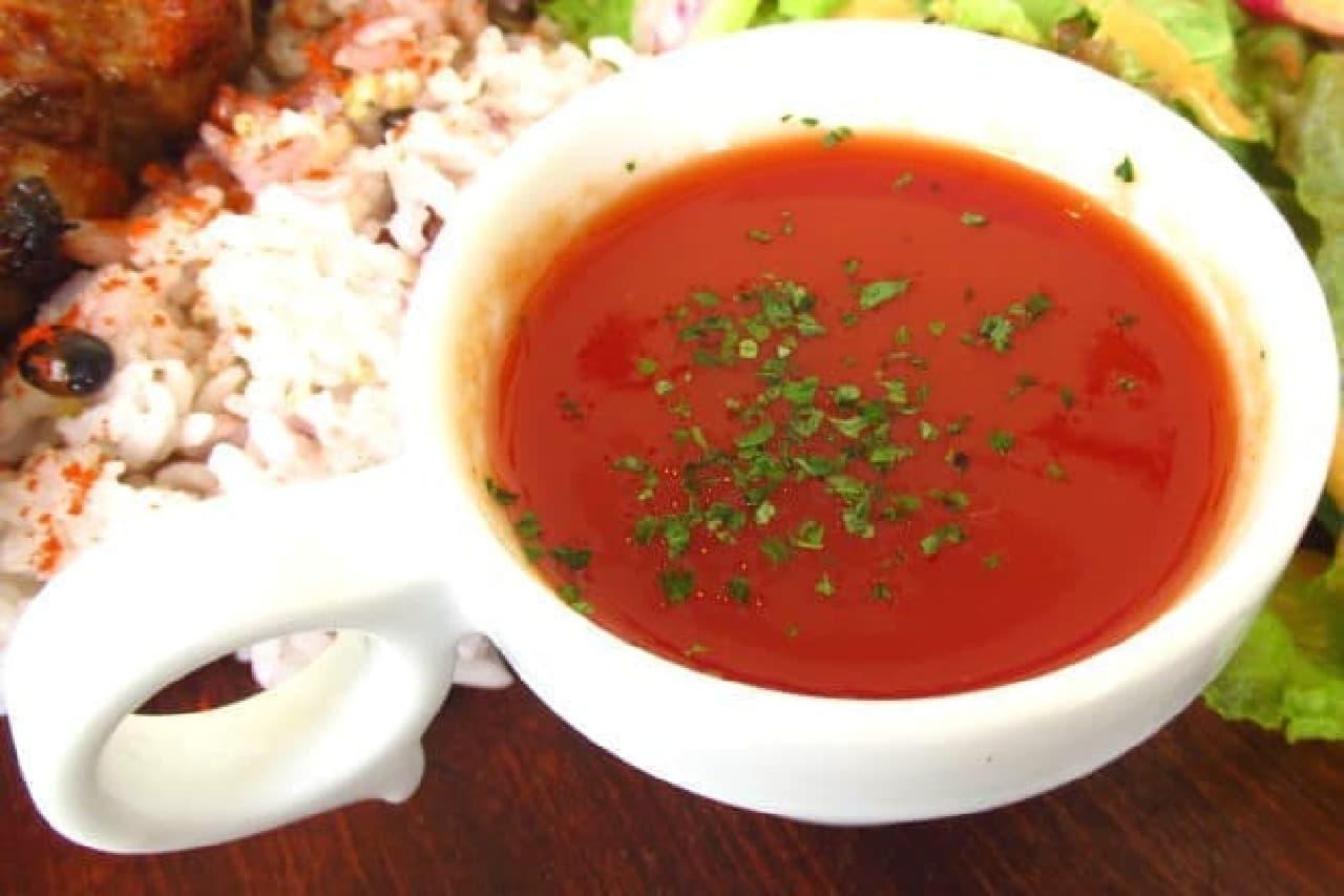 トマトスープのイメージ