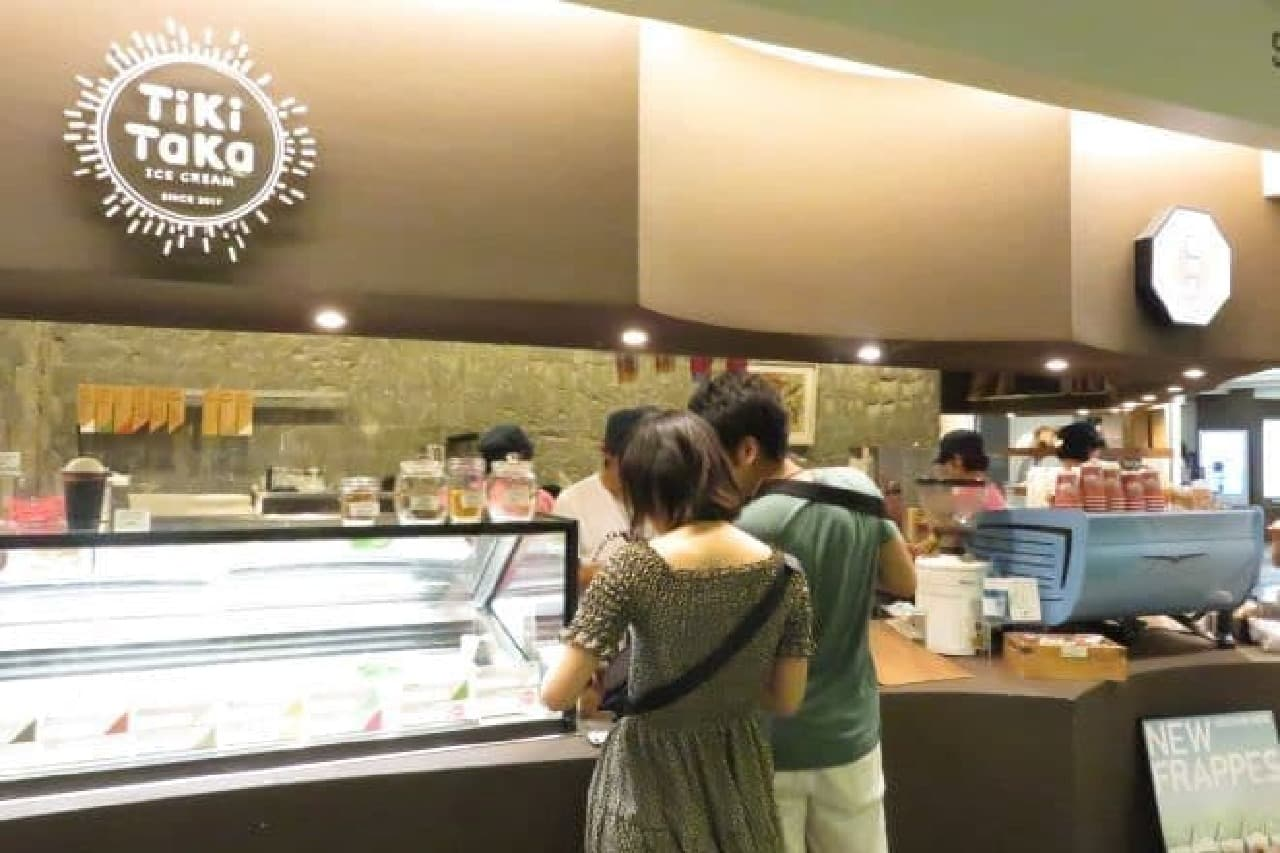 新宿「猿田彦珈琲とティキタカアイスクリームのお店」