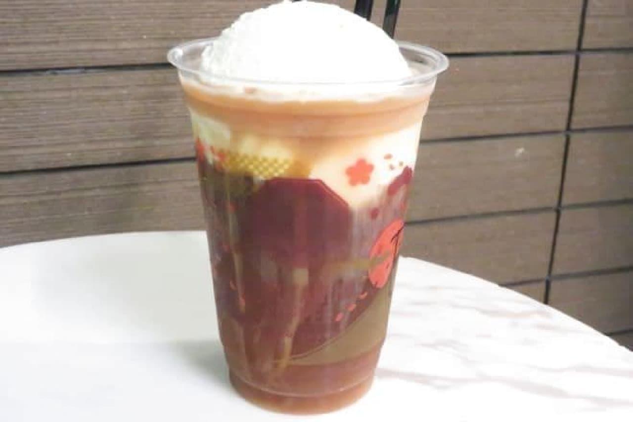 猿田彦珈琲とティキタカアイスクリームのお店の「コーヒーフロート」