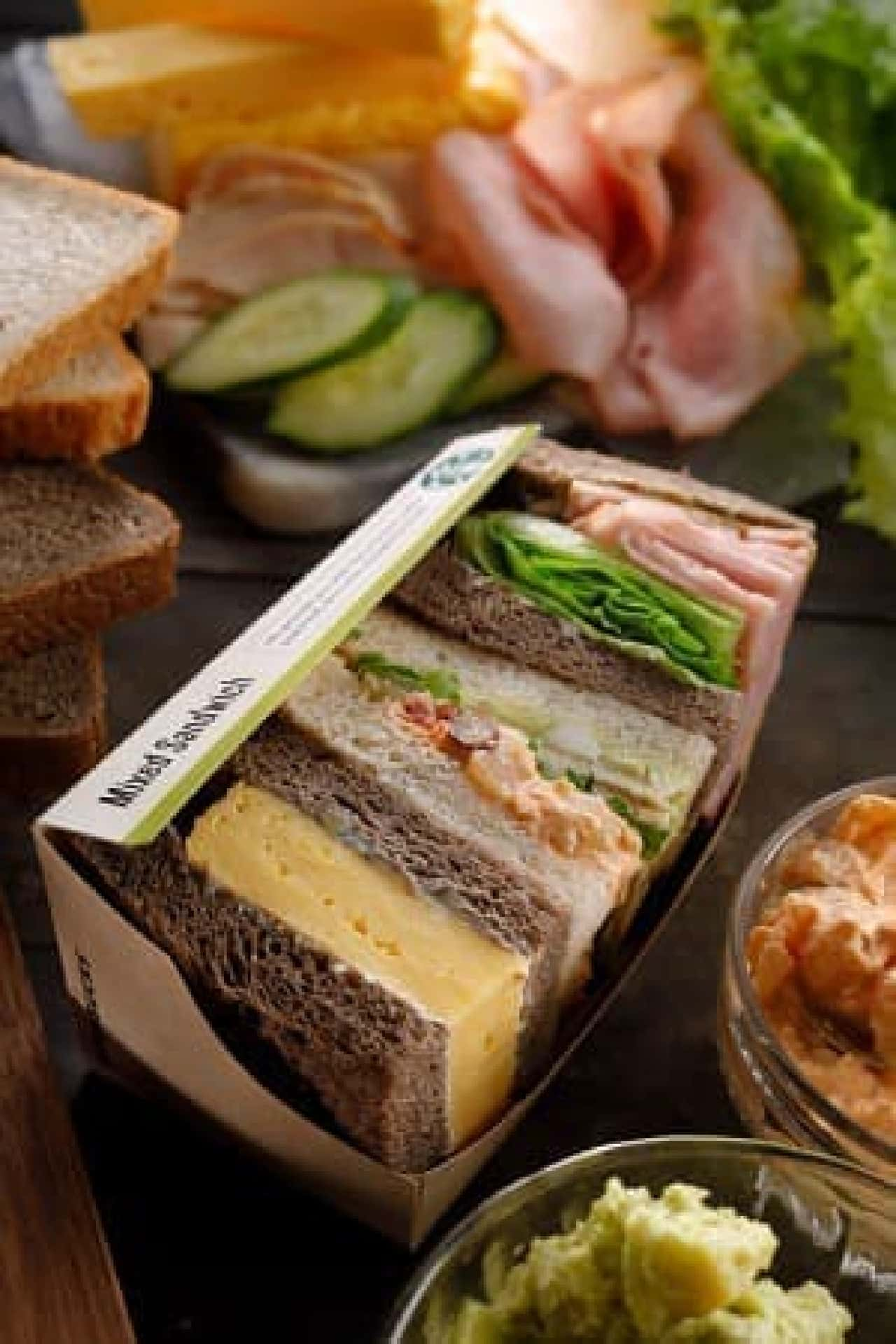 スターバックス「ミックスサンドイッチ」