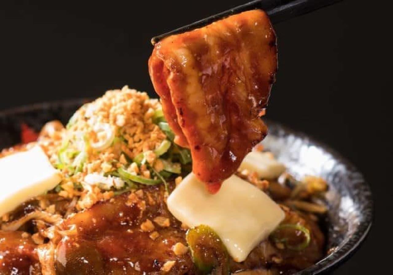 すた丼「ドロ濃バタぽん豚丼」