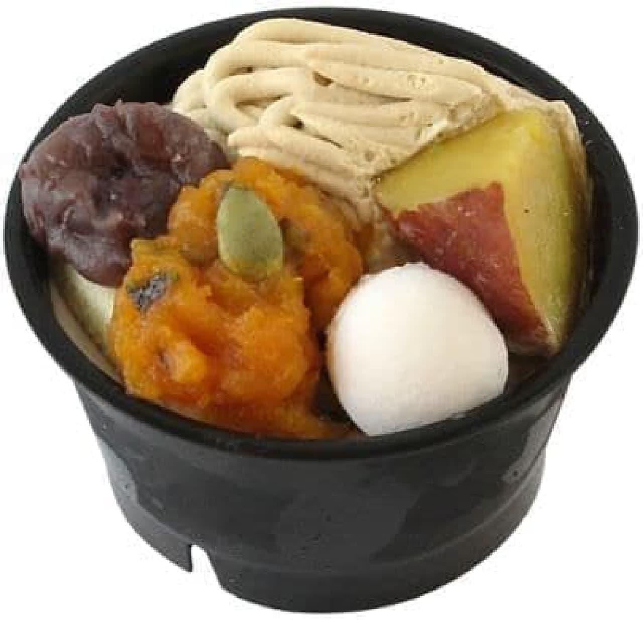 ファミリーマート「秋の味覚ぱふぇ」