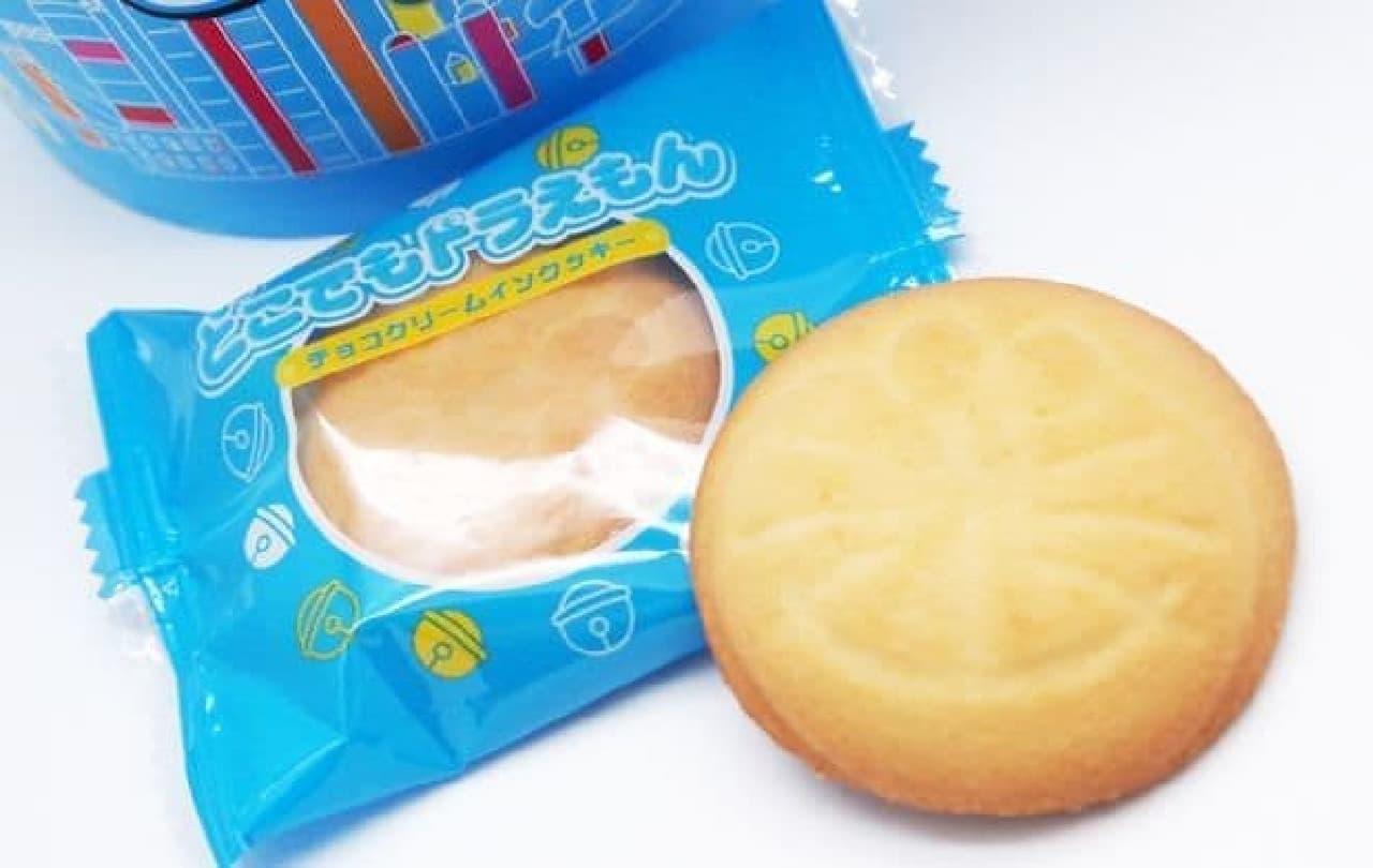 大阪土産「どこでもドラえもん チョコクリームインクッキー(大阪)」