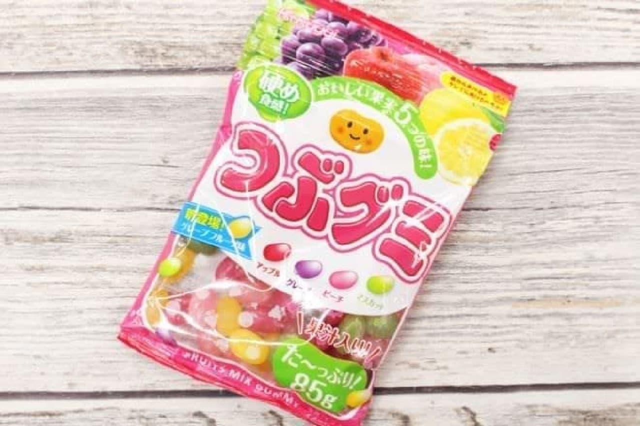 春日井製菓「つぶグミ」