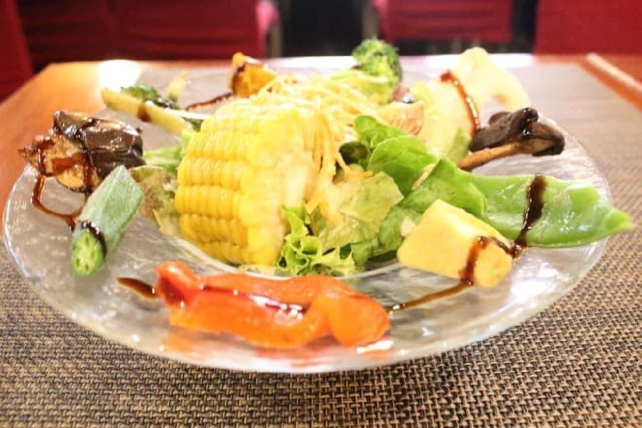 レストランマルタのセットサラダ