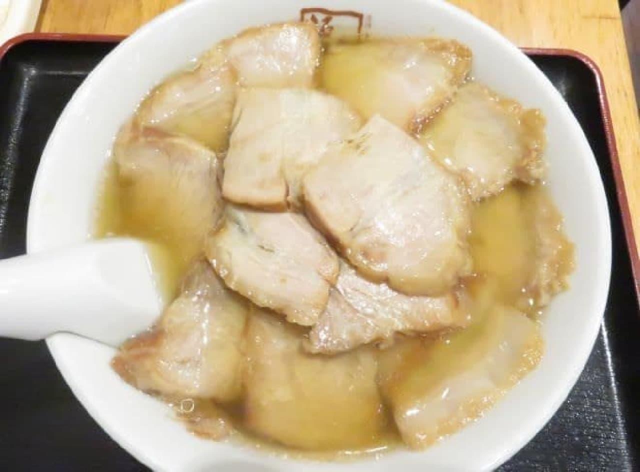 喜多方ラーメン 坂内「焼豚ラーメン」