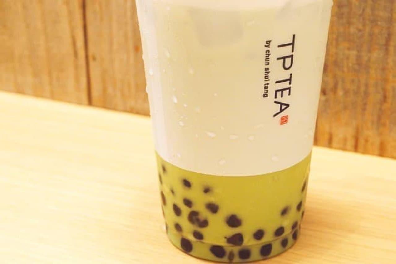 TP TEAの「タピオカ抹茶ラテ」