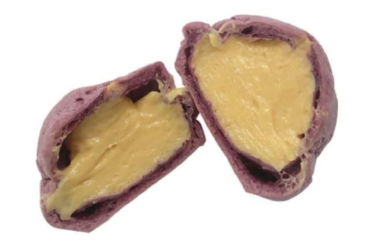 ファミマ「安納芋のシュークリーム」