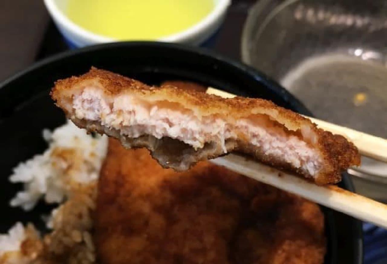 福井「ヨーロッパ軒」のソースカツ丼