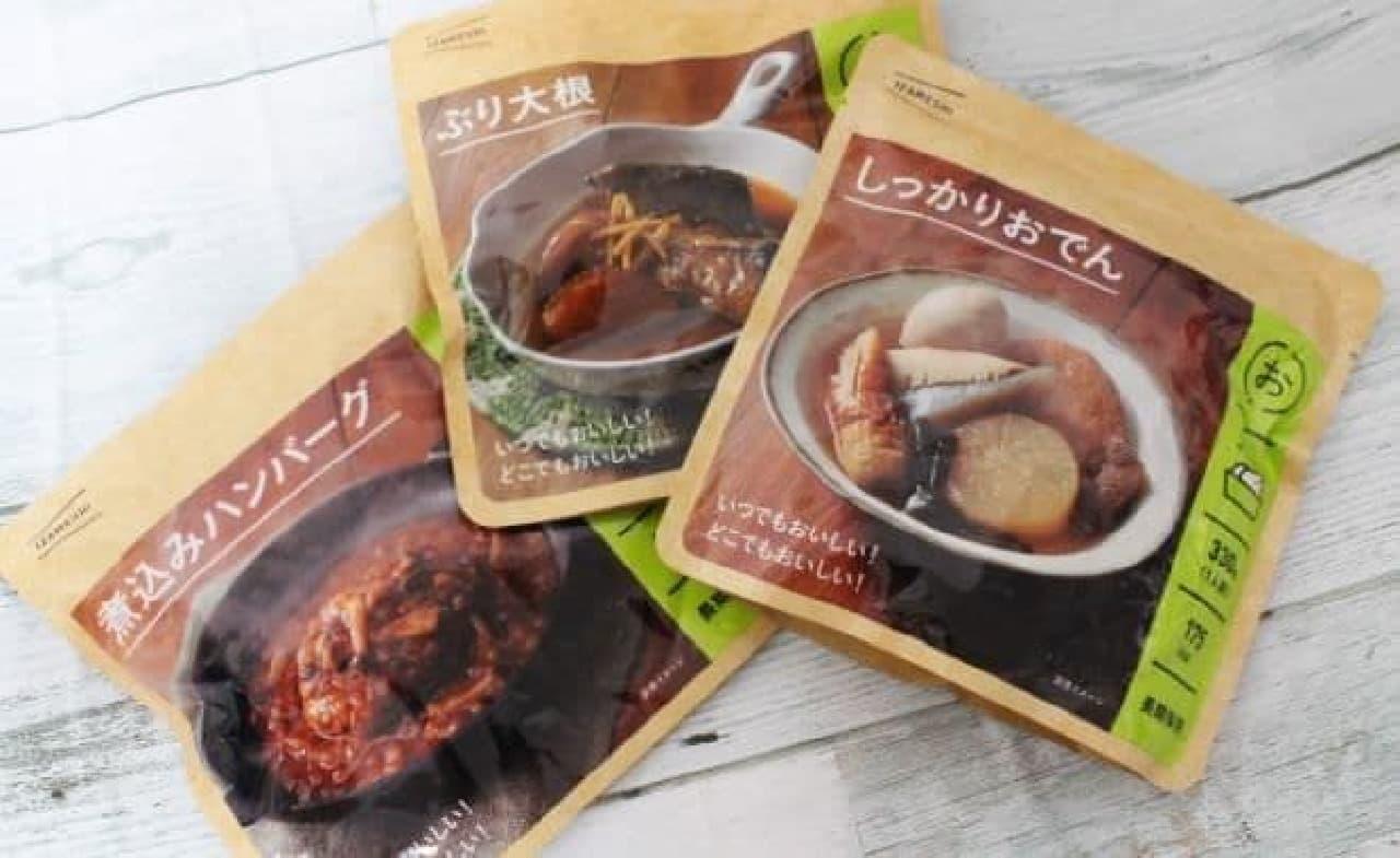 杉田エースから販売されている長期保存食「IZAMESHI(イザメシ)」シリーズ