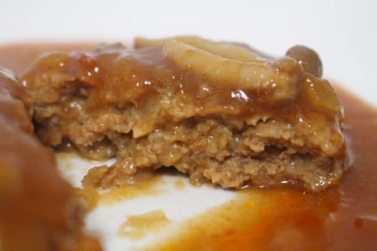 イザメシ「煮込みハンバーグ」