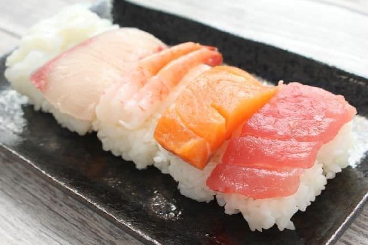 ダイソー「寿司型 にぎり寿司用」
