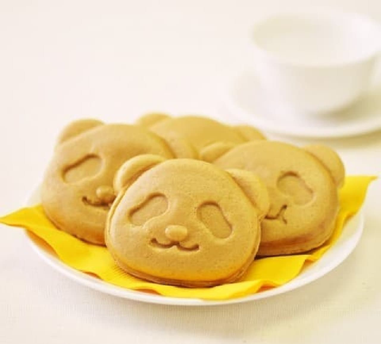 銀座コージーコーナーの上野公園ルエノ店「パンダ焼き(マロン)」