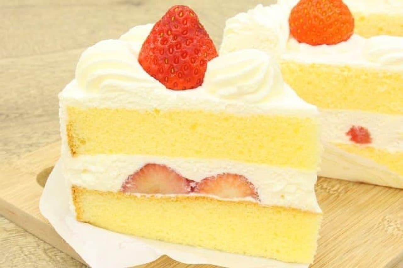 銀座コージーコーナーの「苺のショートケーキ」