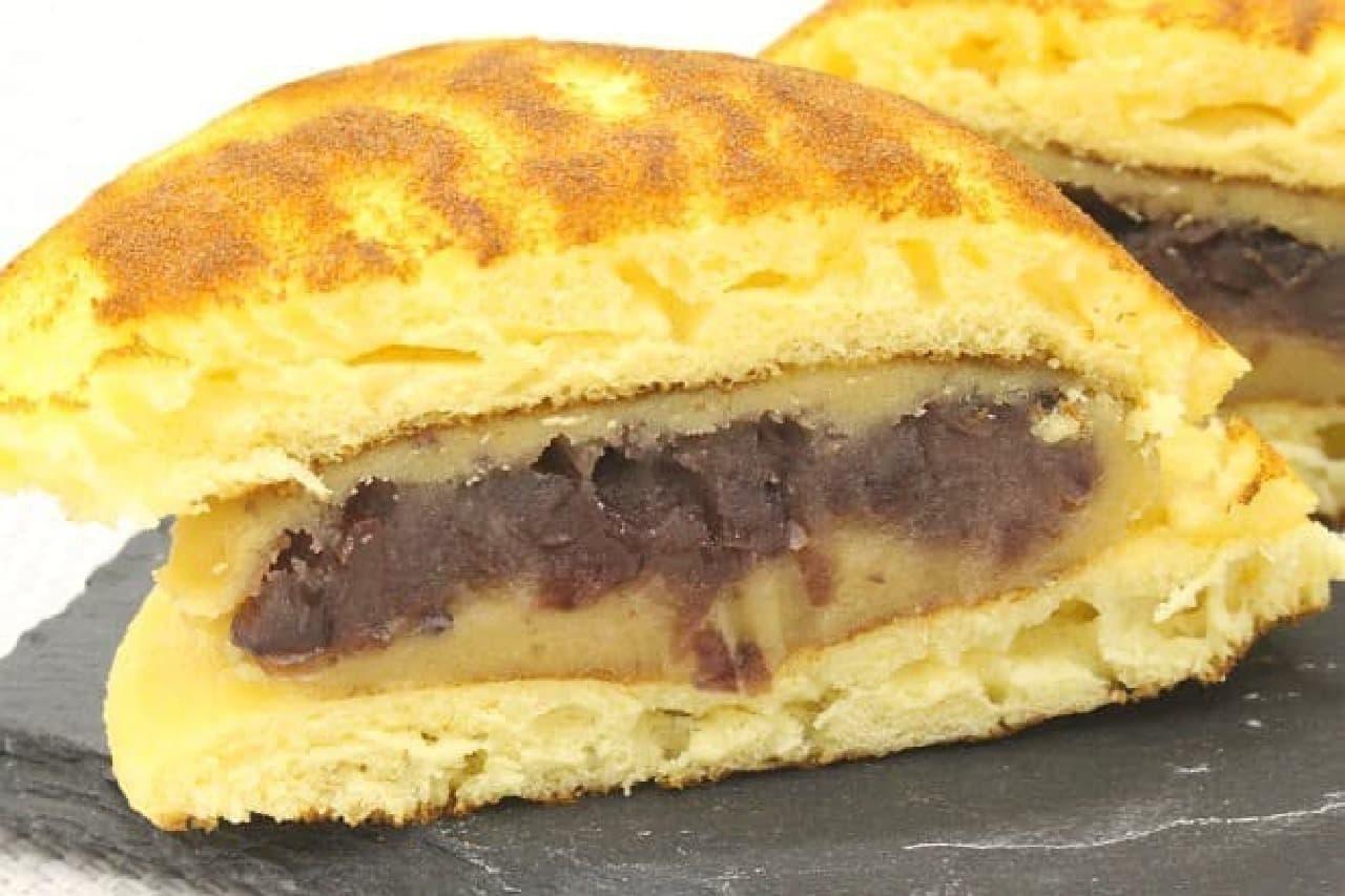 シャトレーゼ「徳島県産なると金時の特盛り餡どら焼き 芋」