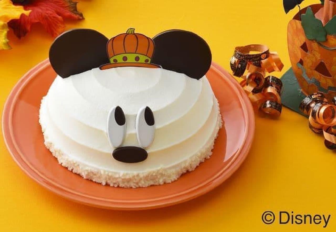 銀座コージーコーナー「<ミッキー(おばけ)>ドームケーキ」