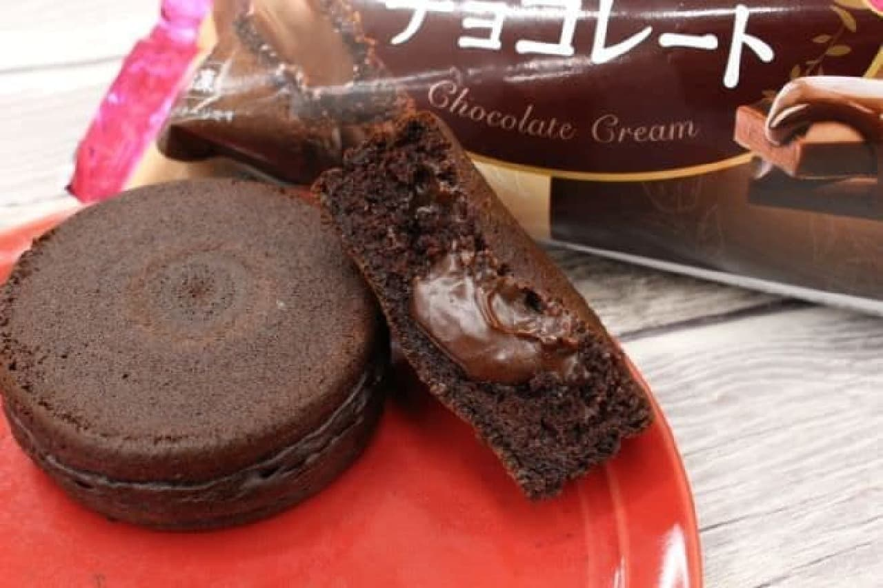 ニチレイ「今川焼(濃厚チョコレート)」