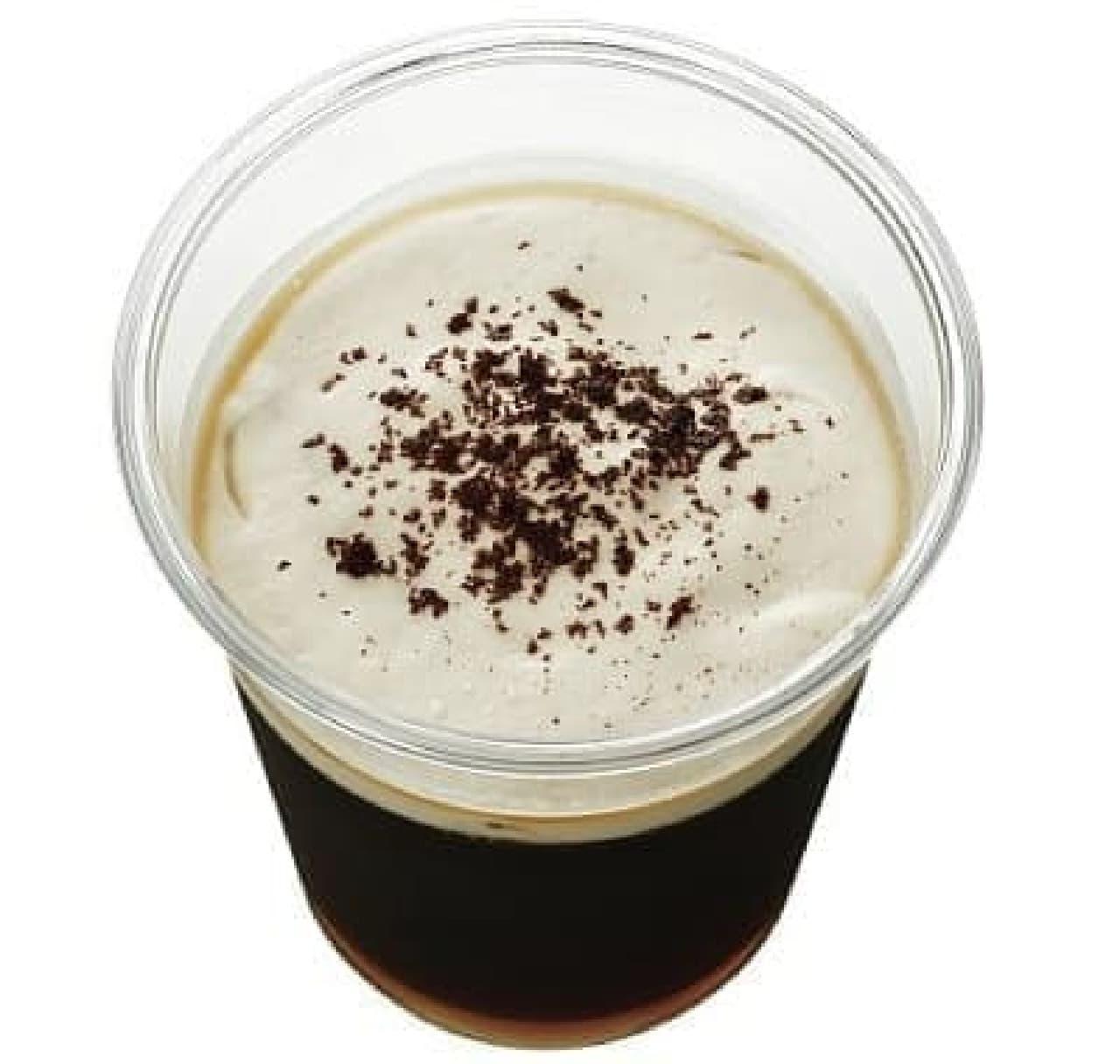ローソンストア100「コーヒーフェア」の「コーヒーゼリー」