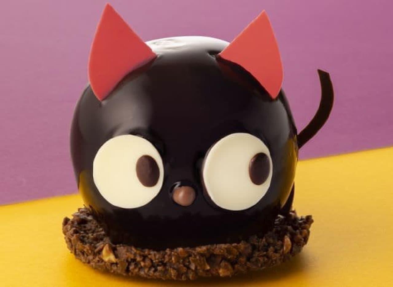 銀のぶどう「黒猫ショコラ」