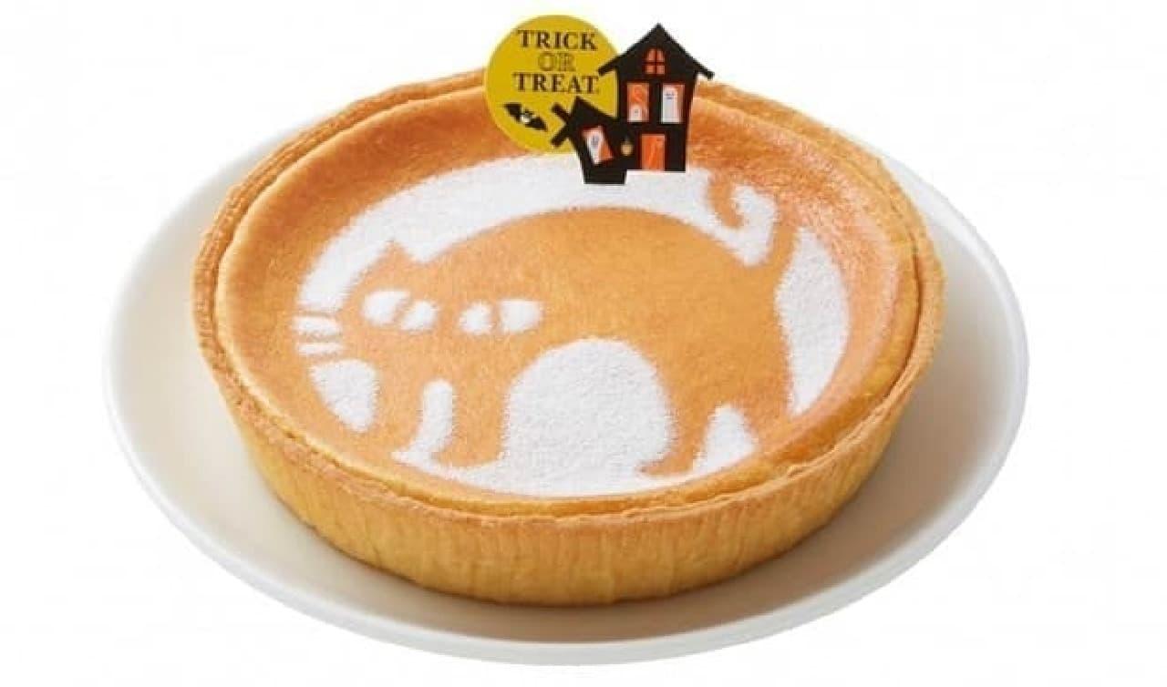 モロゾフの「ハロウィーン デンマーククリームチーズケーキ(クローニャ)」