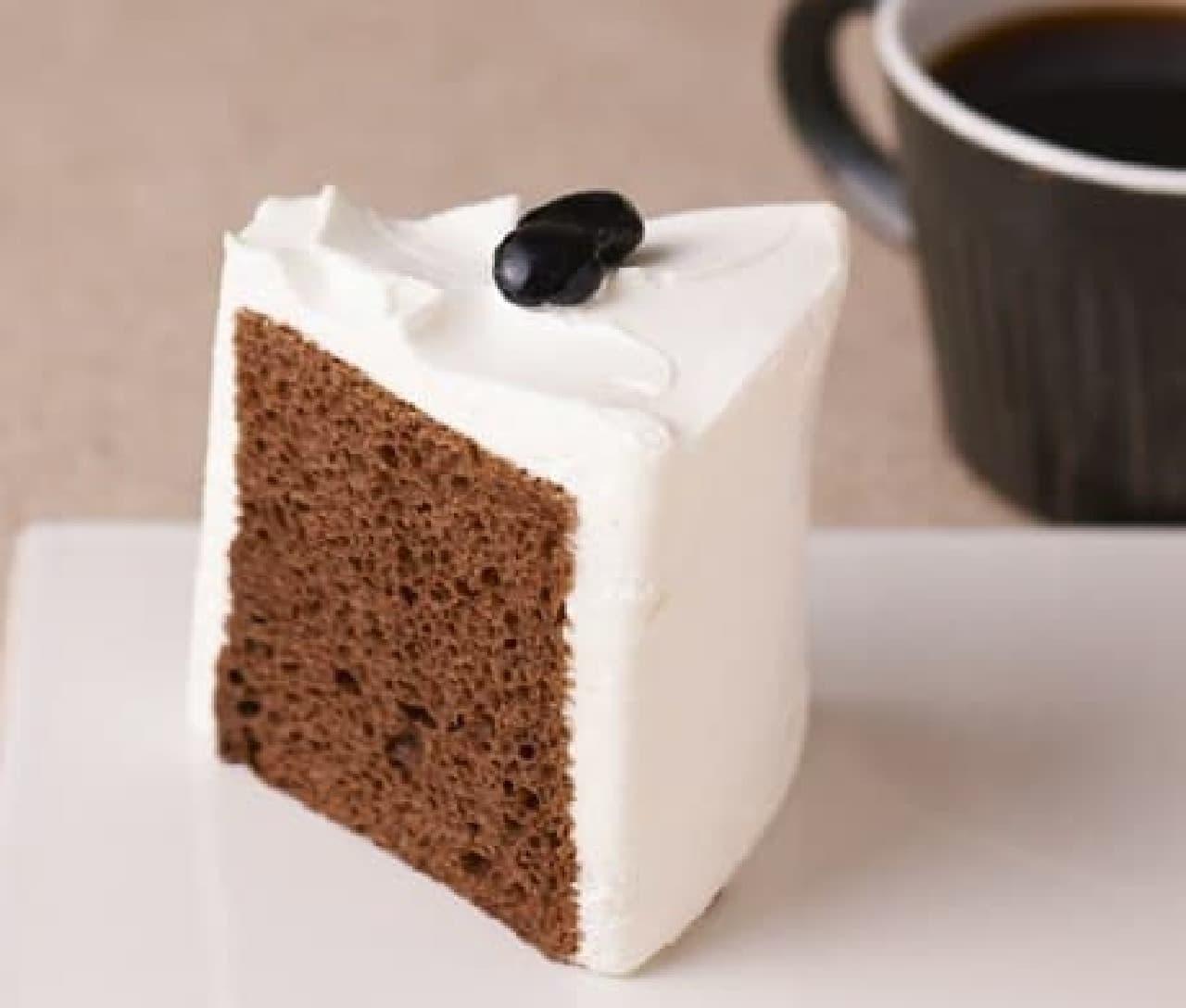 タリーズコーヒー「シフォンケーキ ほうじ茶ミルク」