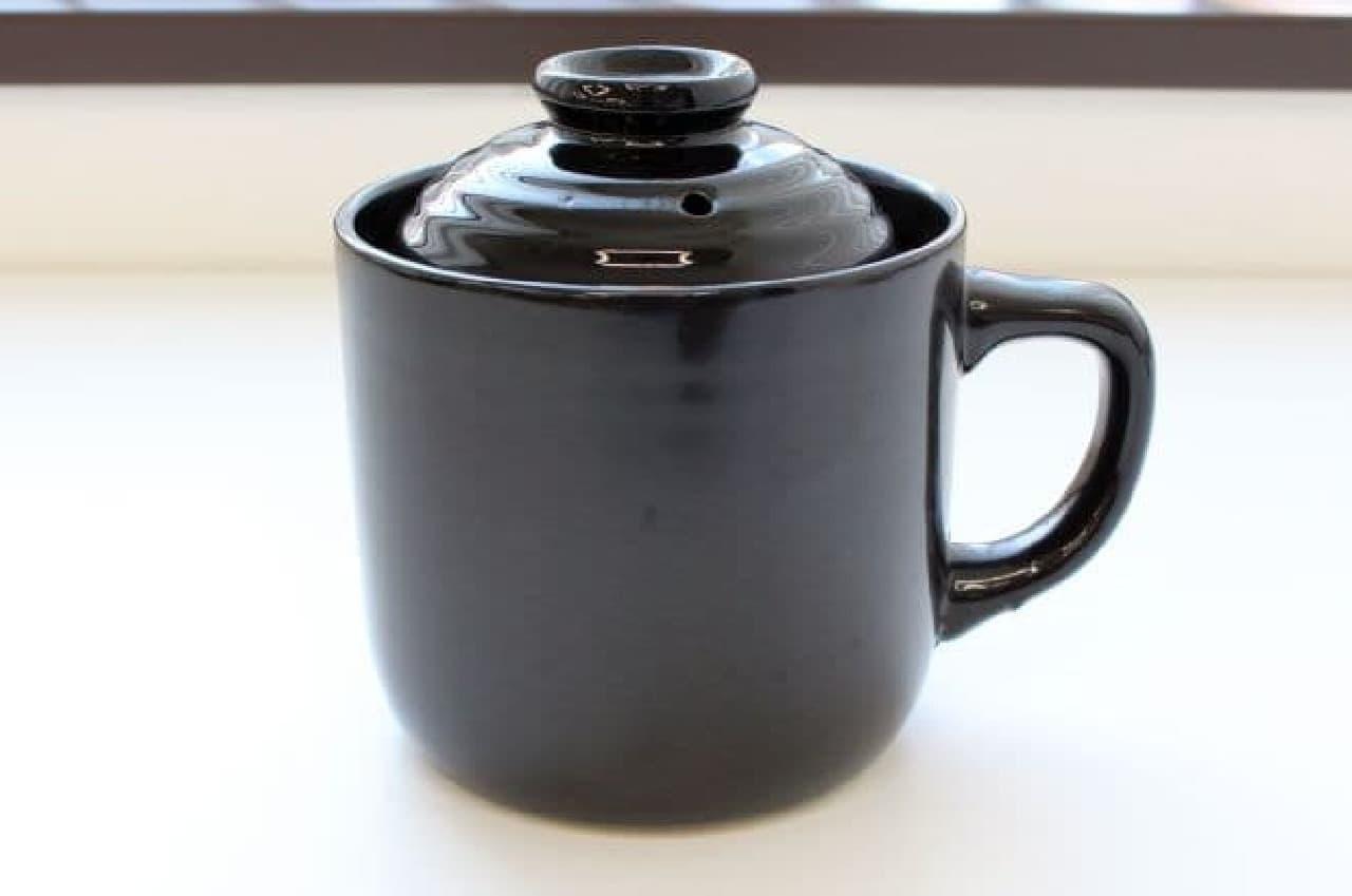 ダイソー「炊飯マグ(1合用)」