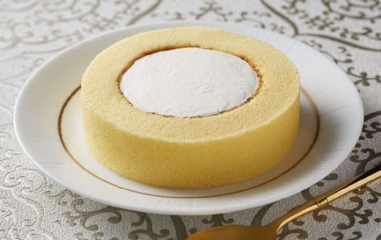 ローソン「Uchi Cafeプレミアムロールケーキ」
