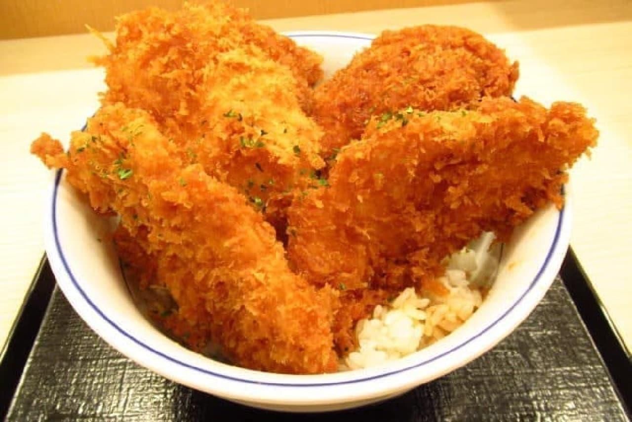 かつ屋の「タレカツ丼」(松)