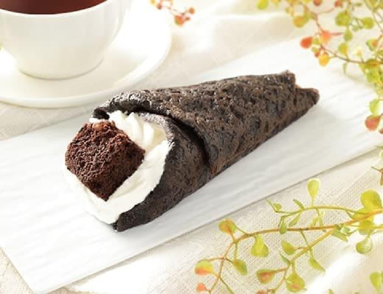 ローソン「チョコバナナクレープ包み」