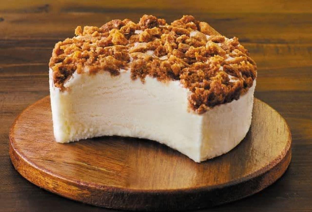 ロッテ「SWEETS SQUARE まったり濃厚なNYチーズケーキアイス」