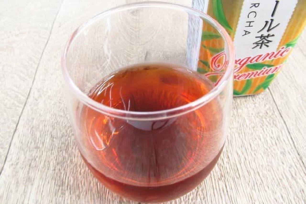 海東銘茶ブランドの「金花プーアール茶」
