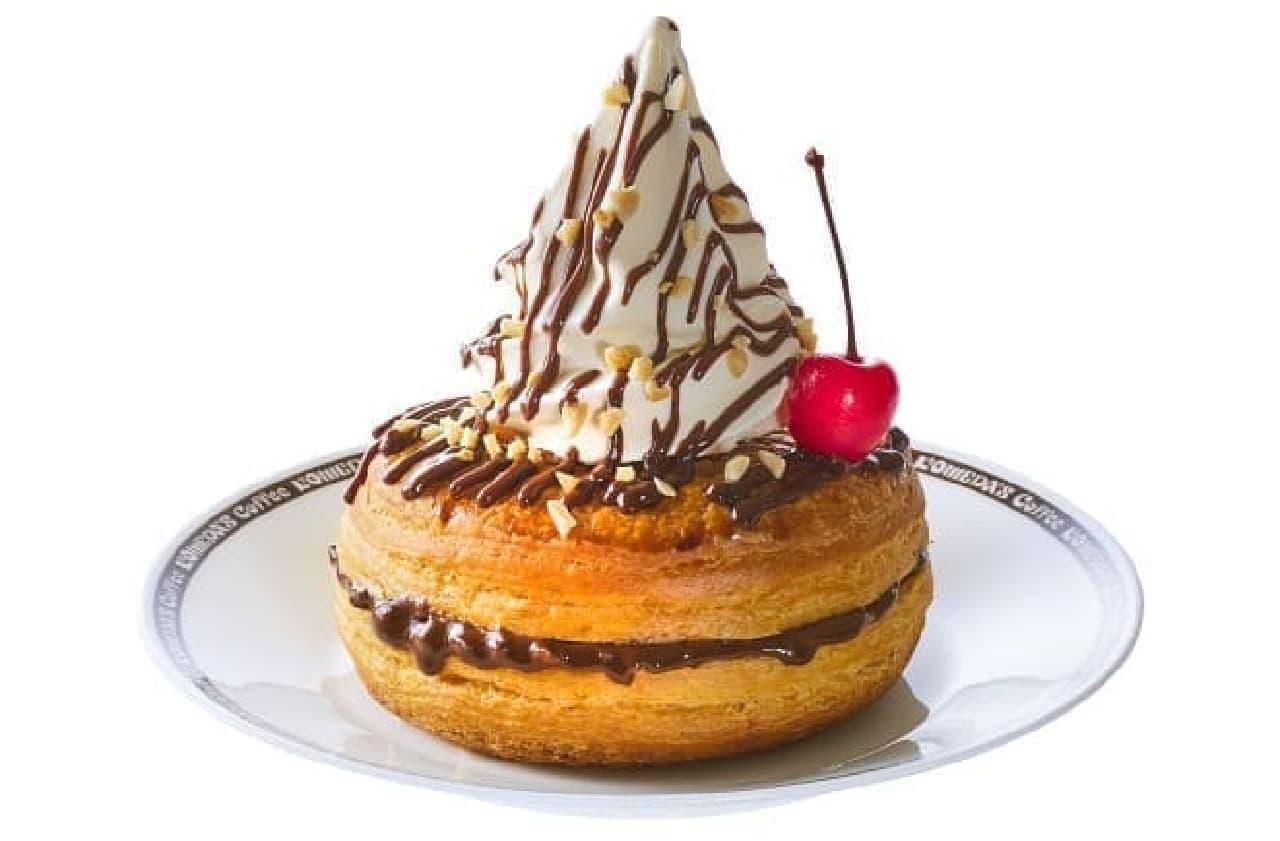 コメダ珈琲店に森永製菓とコラボした「シロノワール小枝」