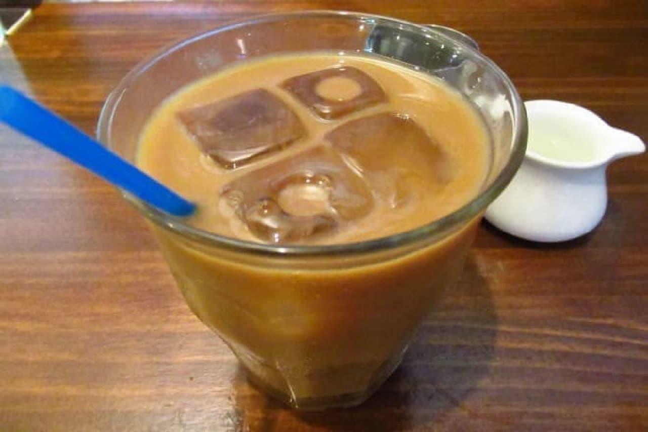 トラジャコーヒーのラテ