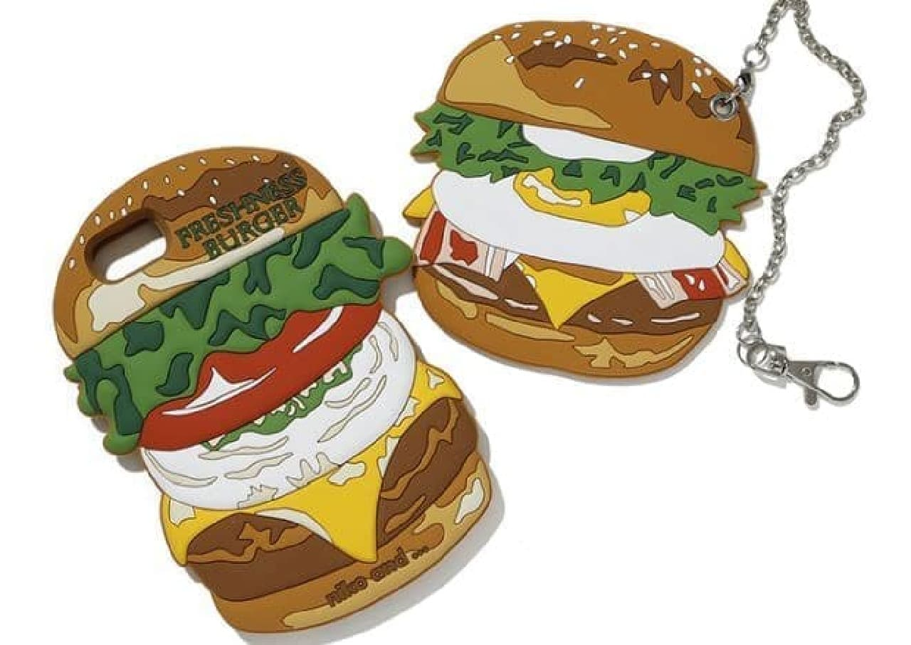 「niko and ...(ニコアンド)」とハンバーガーチェーン「フレッシュネスバーガー」のコラボアイテム