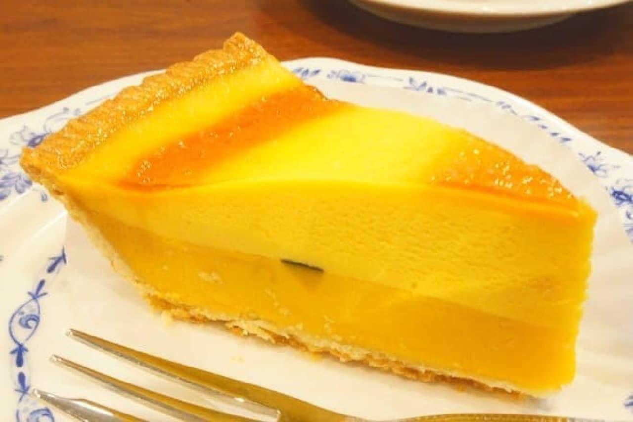 ドトールコーヒー「北海道産かぼちゃのタルト」