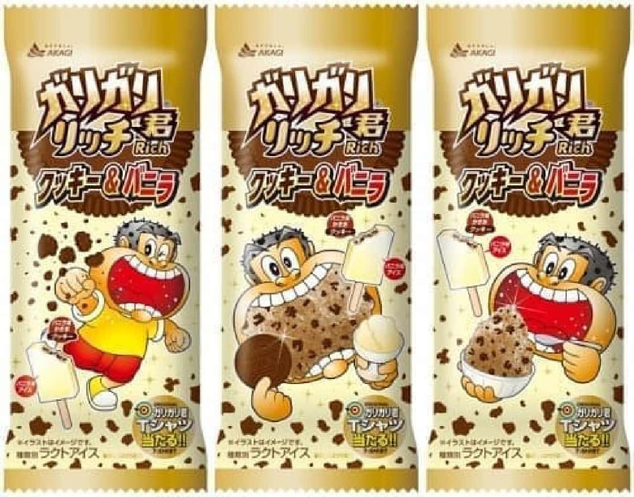 赤城乳業「ガリガリ君リッチクッキー&バニラ」