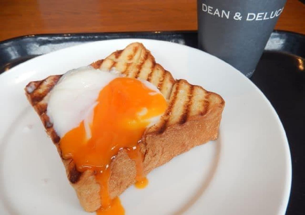 ディーンアンドデルーカ カフェのモーニング