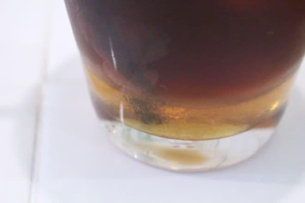 はちくまカフェ「アイス蜂蜜レモンティー」