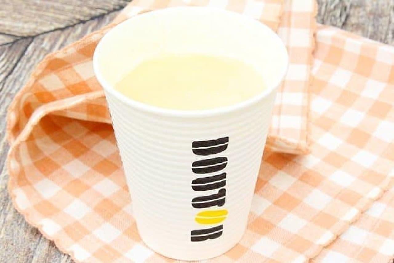 ドトールコーヒーの「きなこ豆乳ラテ ~国産丹波黒豆きなこ使用~」