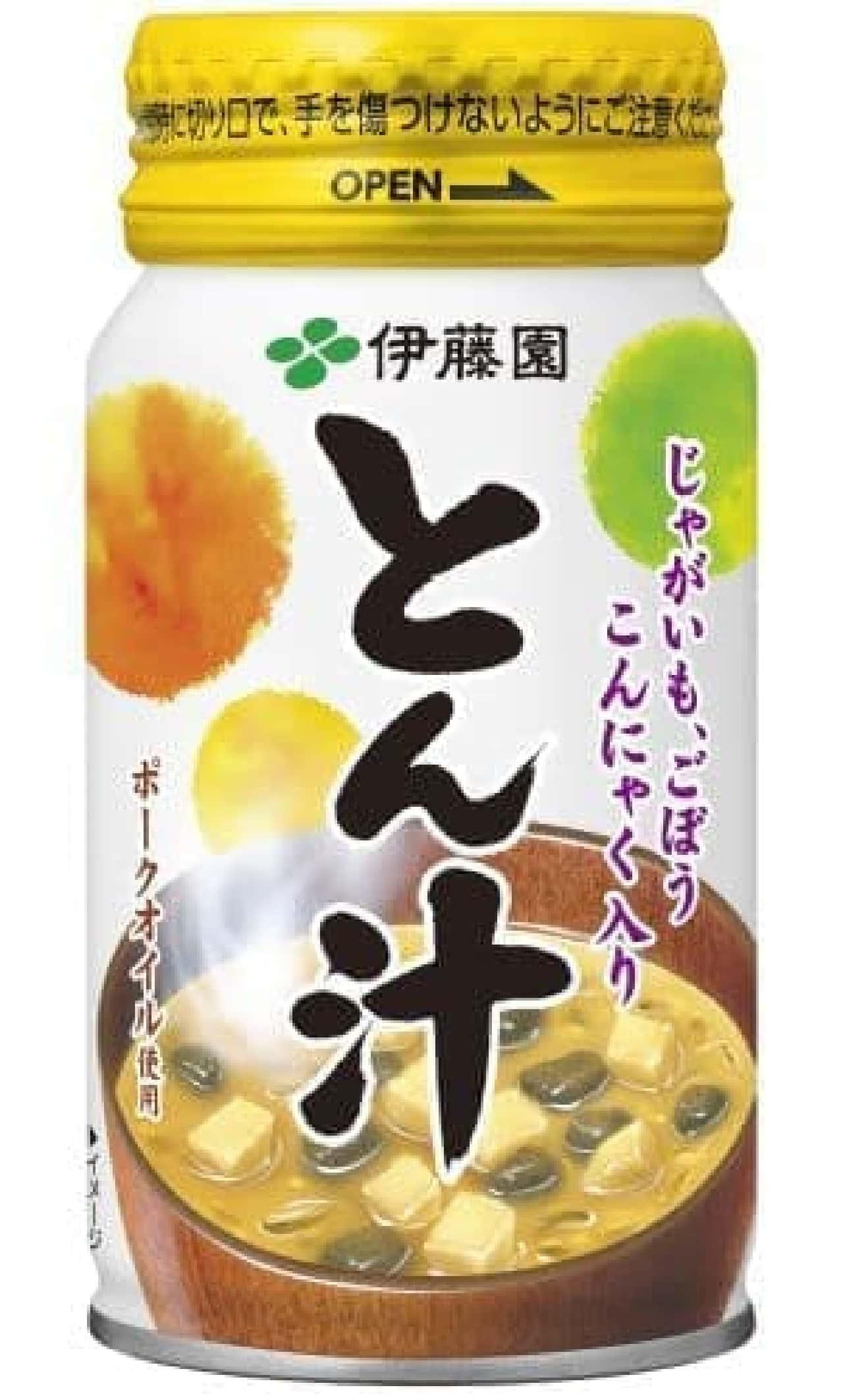 伊藤園「とん汁」