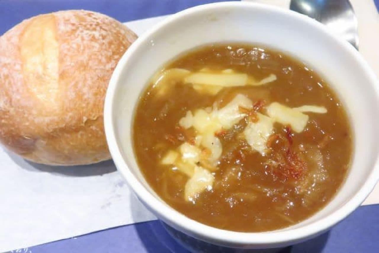 スープストック「ゴッホの玉葱のスープ」