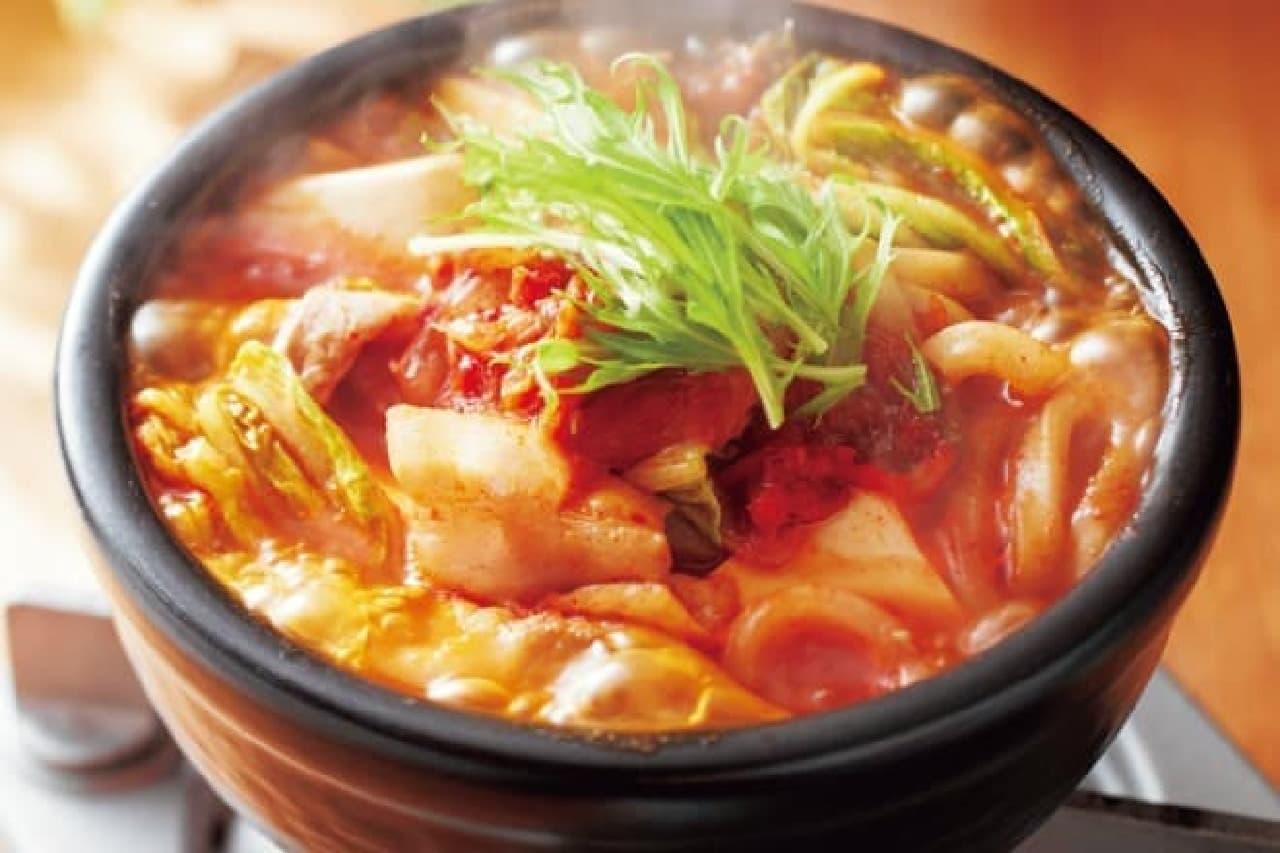 ジョイフルの「味噌チゲ定食」