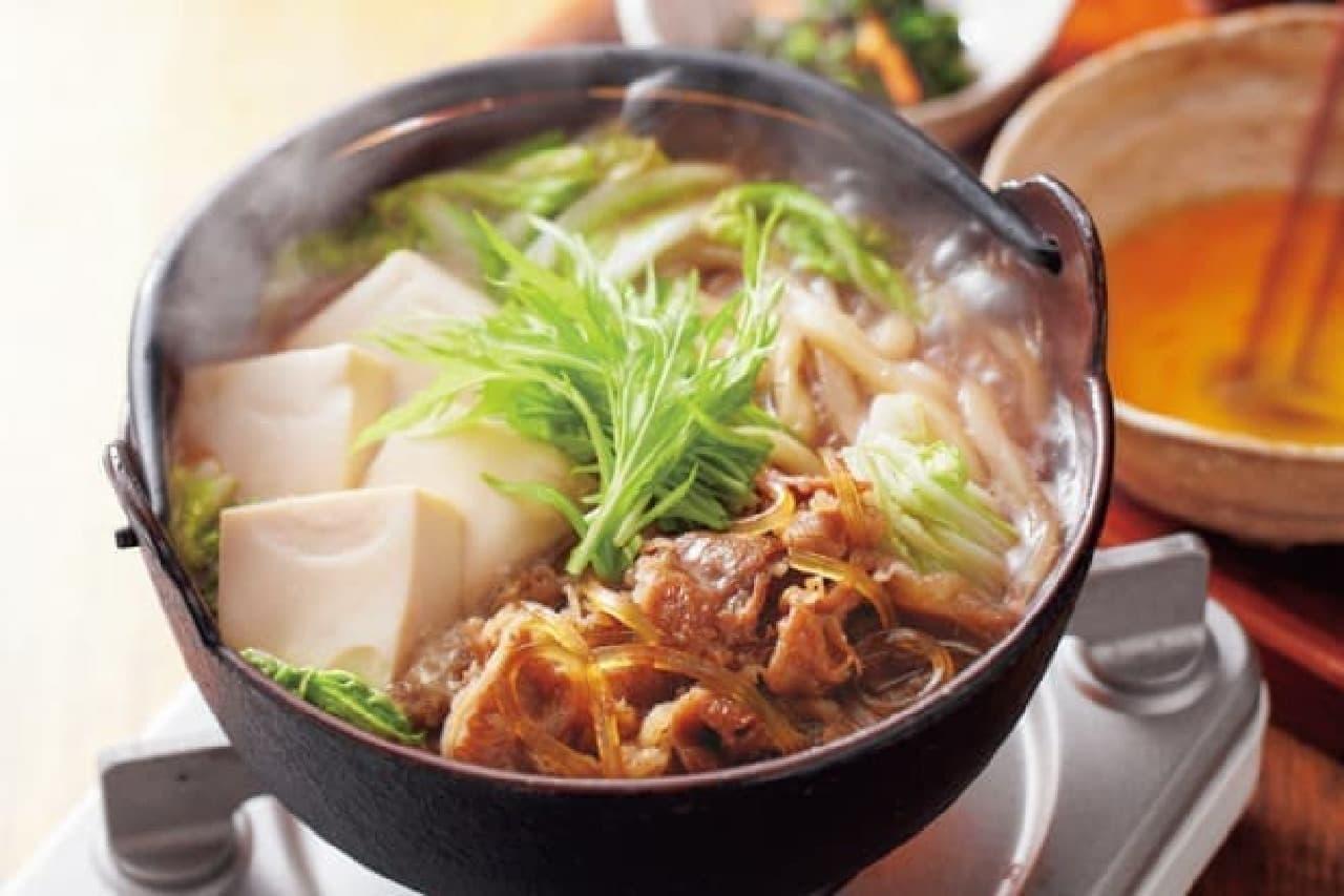 ジョイフルの「すき焼き鍋定食」